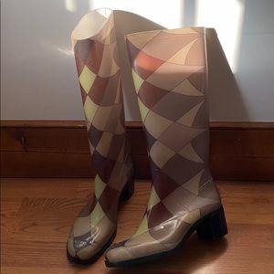 Vintage Emilio Pucci Rainboots